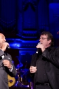 Ruben Heerenveen en Kees Prins tijdens Gala van het Amsterdamse Lijflied