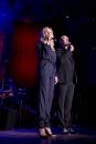 Hadewych Minus en Eric Corton tijdens Gala van het Amsterdamse Lijflied