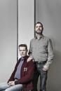 Portret Peter J. Smit en Alexander Pastoors