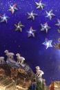 Kerststal in Gaycafe de Engel aan de Zeedijk
