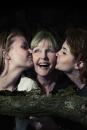 Portret Lydia met haar dochters Julia & Roos