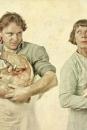 Portret Floris Brester en Diny Schouten