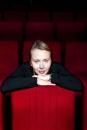 Portret regisseuse Urszula Antoniak in filmzaal filmmuseum