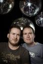 Portret gay tweeling Dave en Robby Crombeen