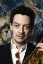 Portret van de jazz trenor saxofonist Yuri Honing