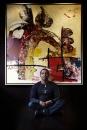 Portret beeldend kunstenaar George Struikelblok