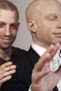 Israelische kunstenaar Nir Nadler met zijn alter ego Norbert