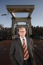 Portret Voorzitter Joop Dekker van de Partij van Amsterdam