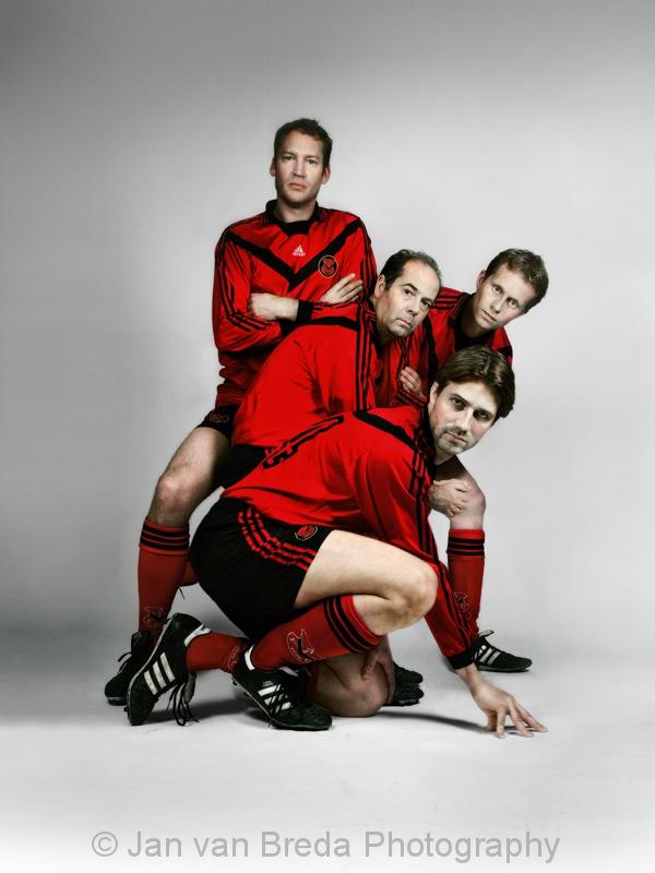 Portret AFC8 spelers in de remake van de befaamde Paul Huf foto