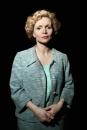 Portret Renée Soutendijk als koningin Juliana