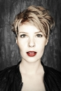 Portret radio dj Kristel van Eijk