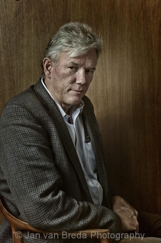 Portret William Finnegan