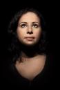 Portret Fayza Oum\'Hamed