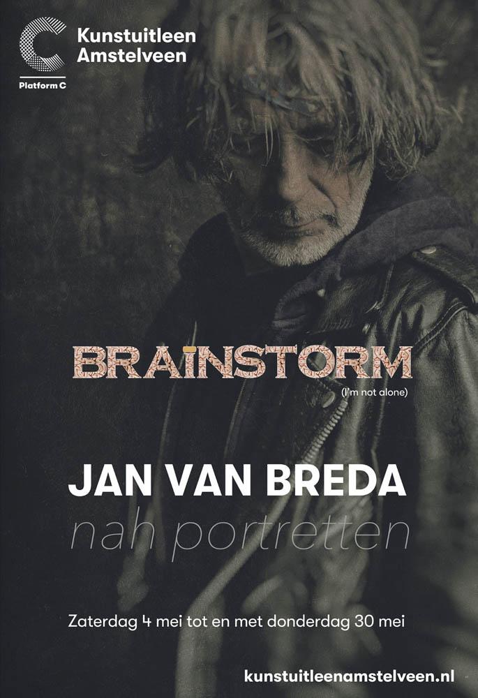 Jan van Breda #BRAINSTORM @ Kunstuitleen Amstelveen